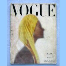 Vogue magazine - 1947 - February